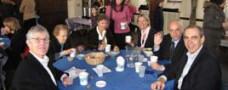 Fellowship around table
