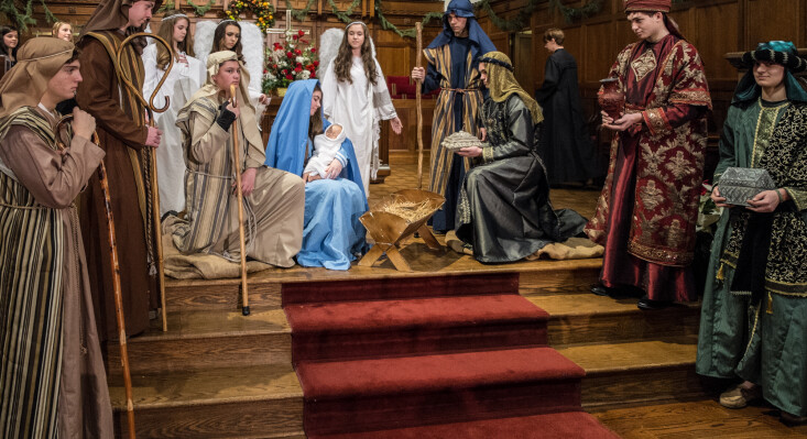 Christmas Eve Live Nativity Family Services - 3 and 5 PM