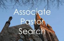 Associate Pastor Search