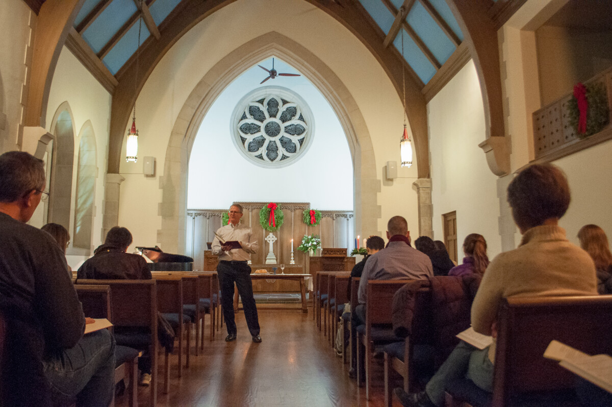 5 PM Evening Worship in the Chapel