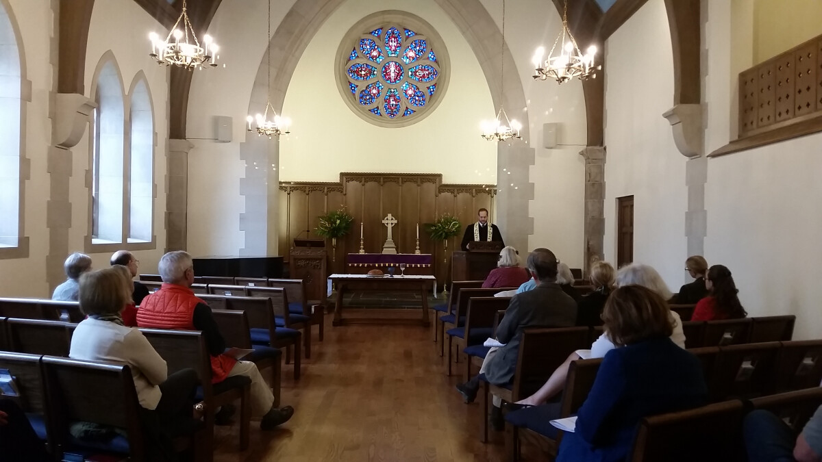 8:30 a.m. Service with Holy Communion